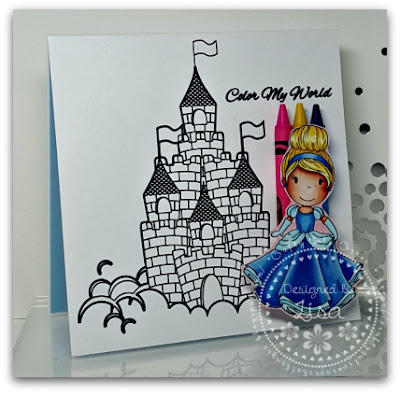 Created In The Crafting Cave with Lisa, Princess, Castle, Paper Crafts