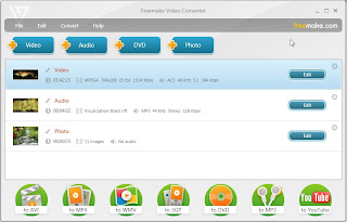 Download Free Video Converter by FreeMake