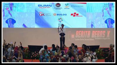 bantuan pangan nontunai, Kejadian, Presiden, Jokowi, Pencapaian Presiden Jokowi, berhadiah sepeda, kuis gaya jokowi, bahan guyonan, Indonesia, Berita Bebas, Berita Terbaru, BeritaBebasX, Ulasan Berita, jokowi bagi bantuan