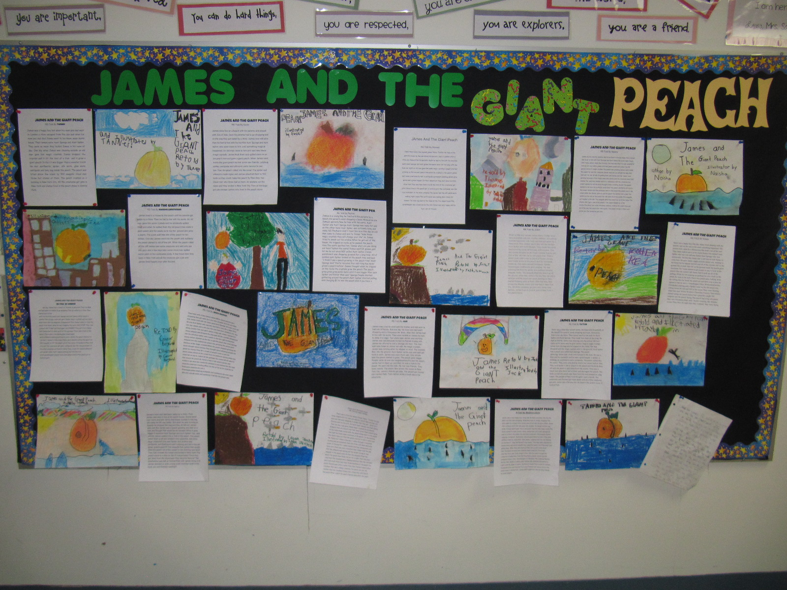 Mrs Squire 39 S Grade 3 Class 3s James And The Giant Peach