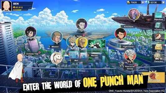 One-Punch Man: Road To Hero 2.0 Codes