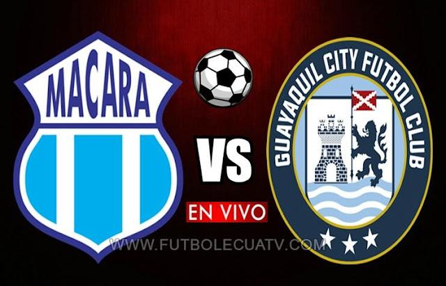 Macará choca ante Guayaquil City en vivo 📺 a partir de las 19h15 horario de nuestro país por la fecha 16 de la Liga Pro 🏆 a jugarse en el Estadio Bellavista de Ambato, siendo el árbitro principal Vinicio Espinel con transmisión del medio oficial GolTV Ecuador.