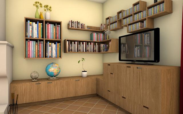 meuble de rangement Pascal Ponchon, agencement d'intérieur à Vannes