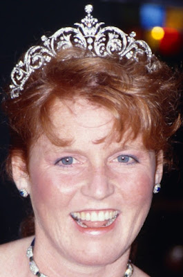 diamond tiara duchess york sarah garrard united kingdom