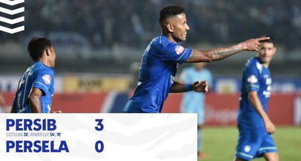 Persib Bandung vs Persela Lamongan 3-0 Highlights