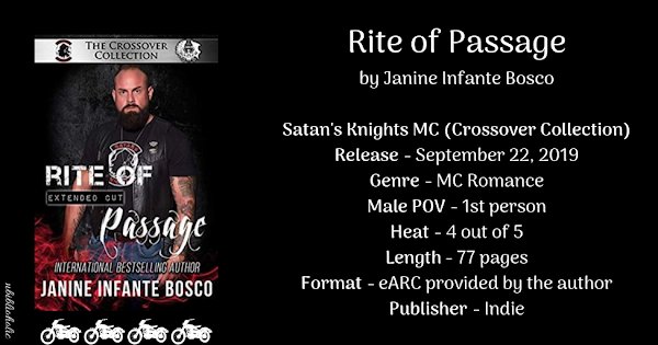 RITE OF PASSAGE by Janine Infante Bosco