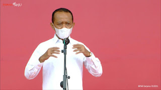 Menteri Investasi: Vaksinasi Gotong Royong Tingkatkan Kepercayaan Diri Pelaku Usaha dan Investor