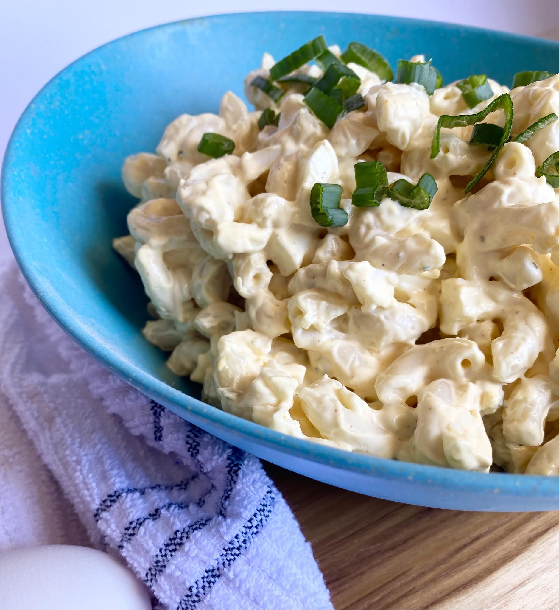 Deviled Egg Pasta Salad