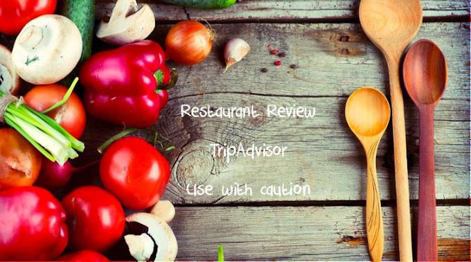 Food & Drink News ~ Beware of bogus restaurant reviews on TripAdvisor