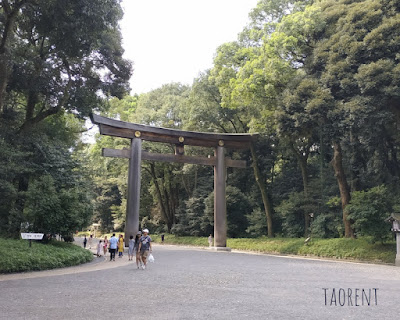 travelling ke meiji jingu shrine