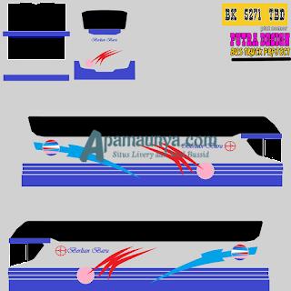Livery Bus Berlian Baru Srikandi SHD