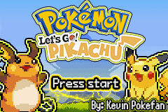 Pokemon Lets Go Pikachu/Eevee GBA v7.0 [GOLPES INGLÊS]