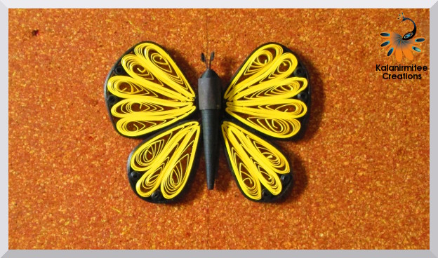 Quilled Butterfly Tutorial Kalanirmitee Creations