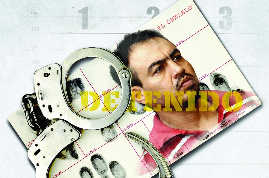 La captura de Eleazar Medina  El Chelelo  b1c24d832f1