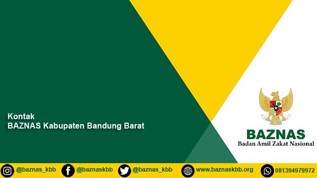 Infromasi Kontak Amil BAZNAS Kab. Bandung Barat