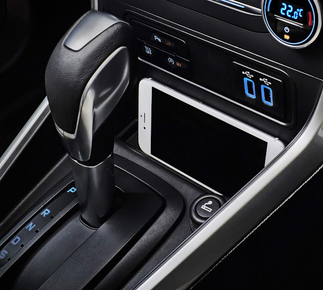 Novo Ford EcoSport 2018 - interior - console central