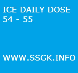 ICE DAILY DOSE 54 - 55
