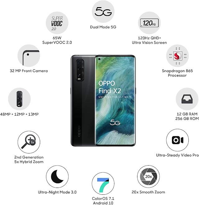 Oppo find X2 pro price in India | oppo find X2 pro की भारत में कीमत और फीचर्स