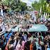 Saat Temui Pendukungnya, Mata Prabowo Berkaca-kaca di Kertanegara