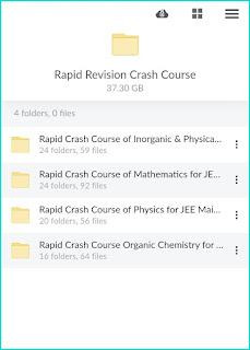 Rapid Crash Course For Jee Main 2021 Free Download Google Drive Link And Mega Link