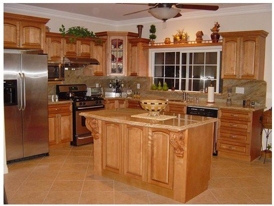 Kitchen cabinets designs an interior design for Kitchen cabinet layout design