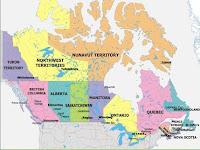 Carte Canada Region.Carte Du Monde Departement Tourisme Region Pays