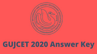 GUJCET 2020 official Answer Key and Solution is available now 2020||gujcet.gseb.org