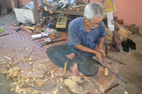 making keris