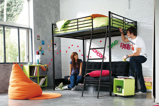 installation climatisation gainable lit mezzanine but 2 places. Black Bedroom Furniture Sets. Home Design Ideas