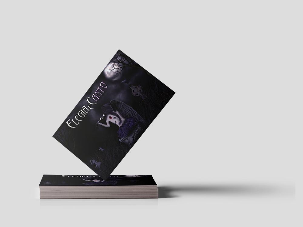 Cartão de visita Elegia e Canto
