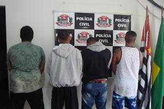 POLÍCIA CIVIL DE REGISTRO-SP PRENDE QUATRO TRAFICANTES INTEGRANTES DO PCC
