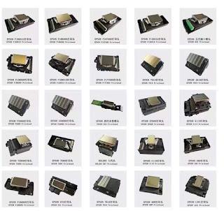 Dijital baskı'da kaç çeşit EPSON kafa kullanılıyor...?