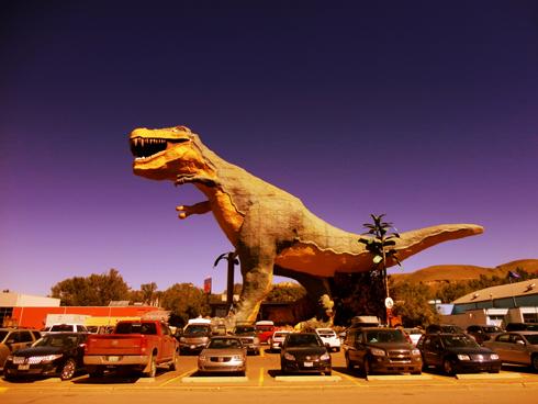 Drumheller Largest Dinosaur