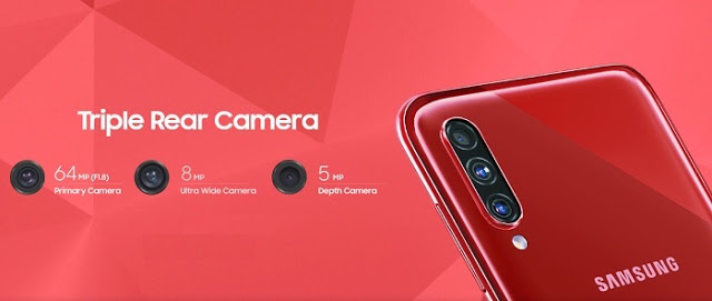 Samsung Galaxy A70s launched in India, has 64-megapixel triple rear camera setup launched in India
