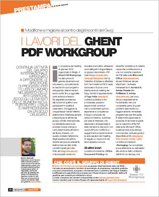 I lavori del Ghent Pdf Workgroup