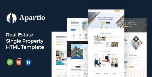 Best Real Estate Single Property HTML Template