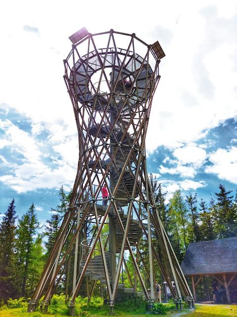 wieża na górze Borowej, okolice Wałbrzycha