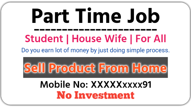 Part Time Job Online For Students Housewife For All
