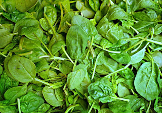 Spinach increases uric acid