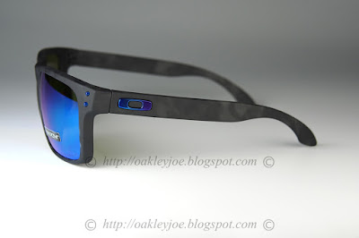b70ec16fe61 oo9244-19 Holbrook Asian Fit matte black + sapphire iridium polarized  245  lens pre coated with Oakley hydrophobic nano solution