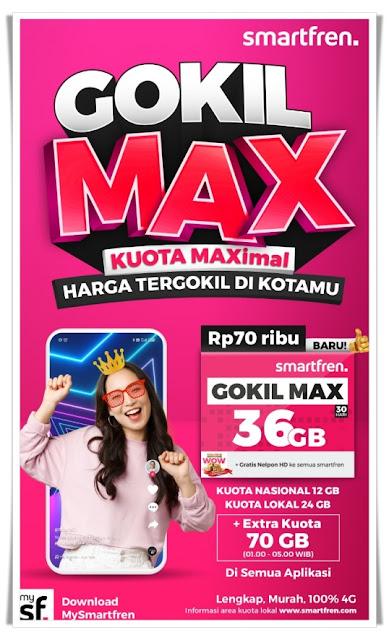 Smartfren Kuota Gokil Max