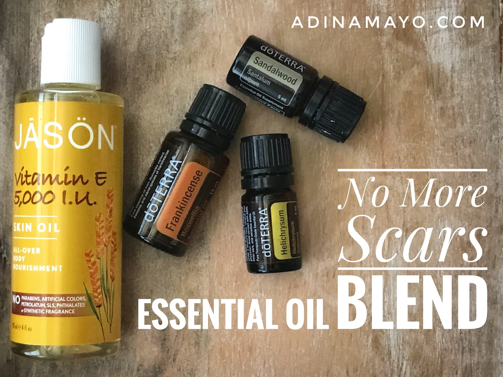 Essential Oil No More Scars Blend | Adina Mayo