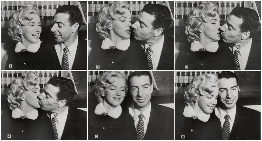 Candid Photographs From Marilyn Monroe and Joe DiMaggio's Wedding in San Francisco, 1954