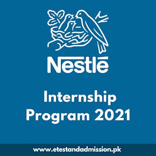Nestle Internship Program 2021