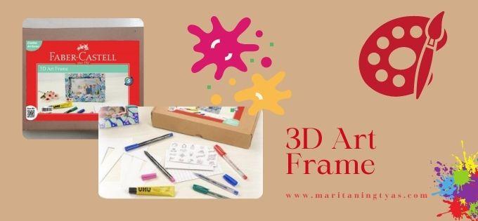 3D art frame by Faber-Castell