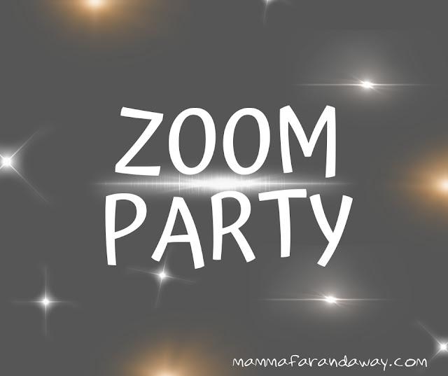 festa di compleanno su zoom
