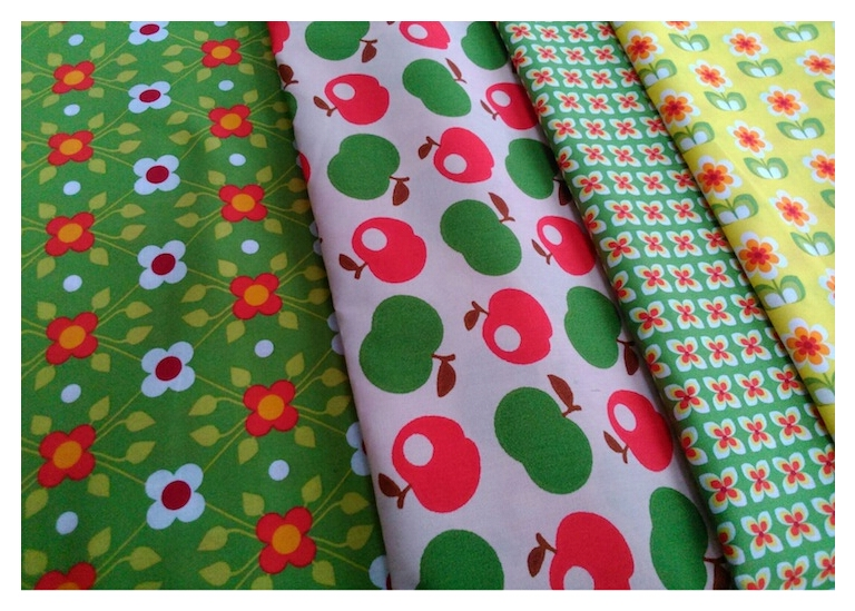 Delicious organic cotton fabrics from Handarbeitsstube Trasser in Traben-Trarbach
