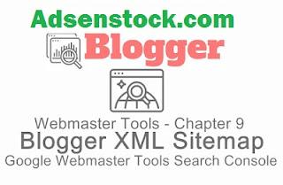 Blogger Sitemap Google Webmaster Tools