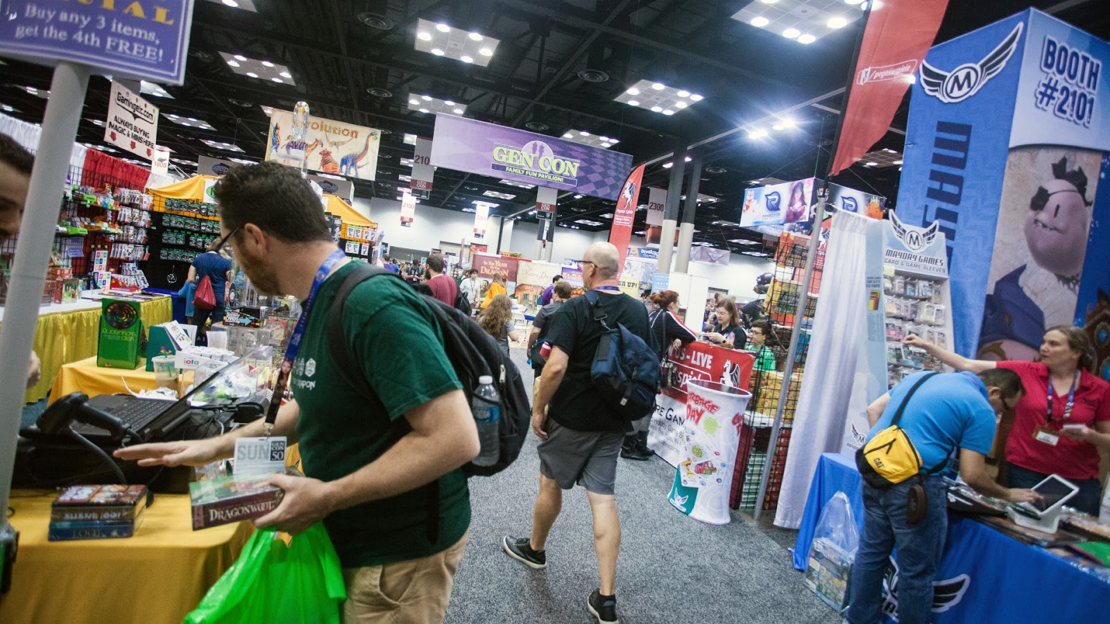 News Collider Board Game News GenCon the Home of Tabletop Gaming