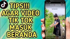 Cara Agar Video TikTok Masuk FYP